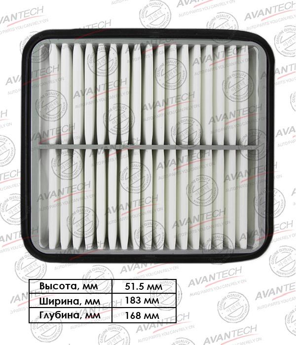 Фильтр воздушный Avantech-AF0121 AF0121 купить в Абакане