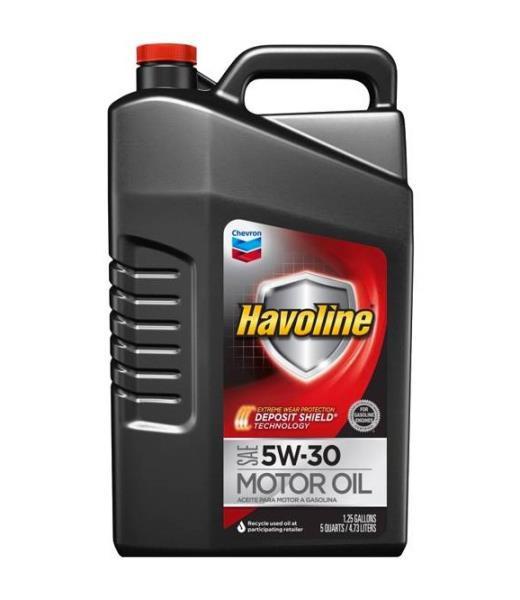 Моторное масло Масло моторное полусинтетическое - HAVOLINE M / O SAE 5W-30 4.73 л. 223394485 купить в Абакане