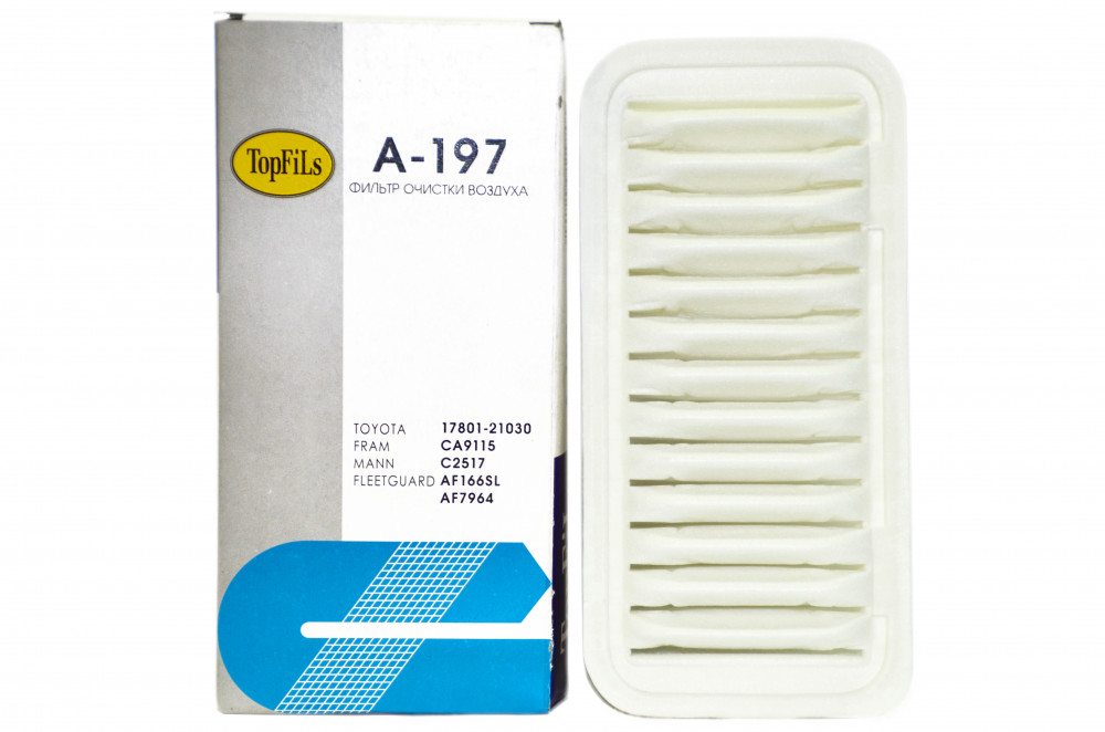 Фильтр воздушный TOP FILS A-197 17801-21030 A-197 купить в Абакане