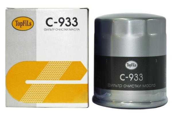 Фильтр масляный TOP FILS C-933 16510-61A00 C-933 купить в Абакане