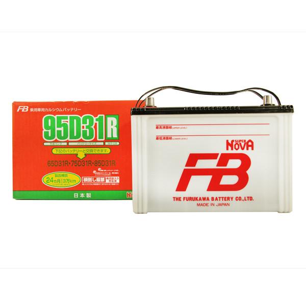 Аккумулятор FB SUPER NOVA 95D31R 95D31R купить в Абакане