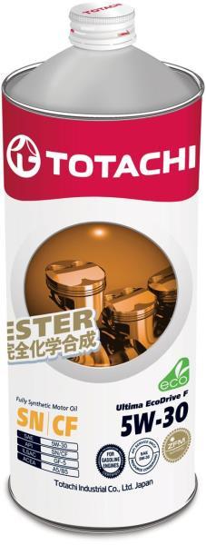 Моторное масло Масло моторное TOTACHI Ultima EcoDrive F SN / CF Синтетика 5W30 1л 4562374690950 купить в Абакане