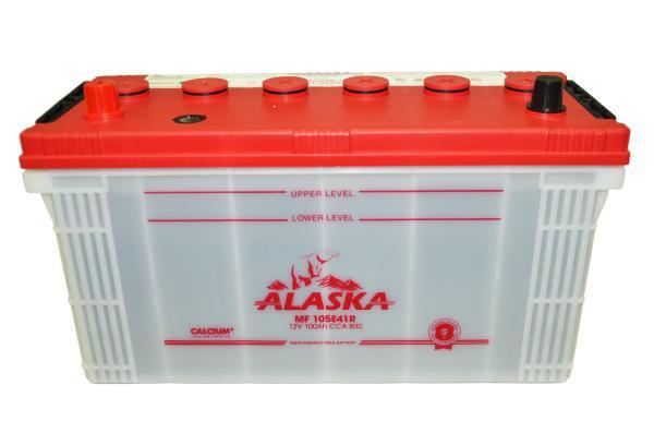 Аккумуляторная батарея ALASKA MF 100 105E41R calcium + 8808240010559 купить в Барнауле