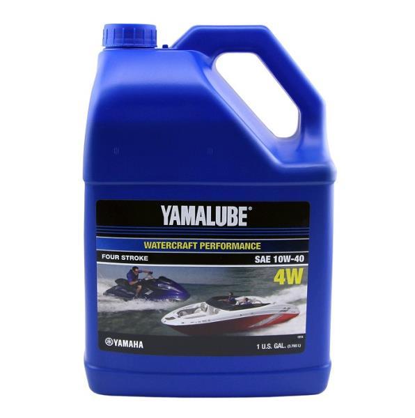Моторное масло Yamalube 4W 10W-40 Watercraft Mineral Oil (3, 78 л) LUB10W40WV04 купить в Абакане