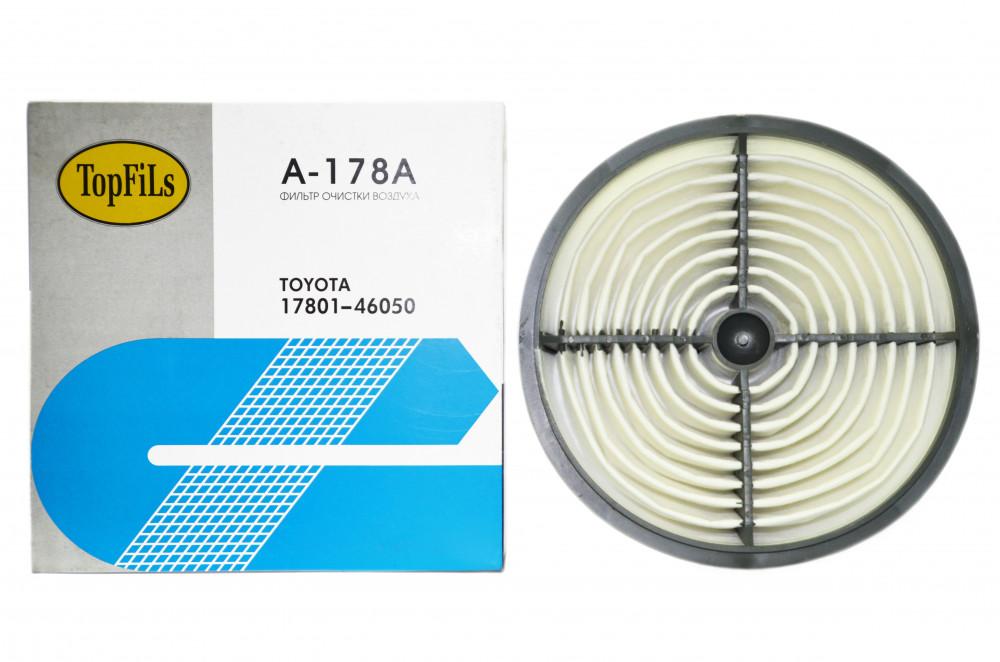 Фильтр воздушный TOP FILS A-178 A 17801-46050 A-178 A купить в Абакане