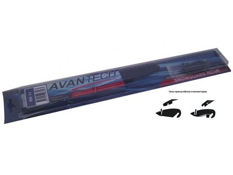 Щетка стеклоочистителя для заднего стекла зимн. Avantech Snowguard Rear 275 мм (11) RR-11 купить в Абакане
