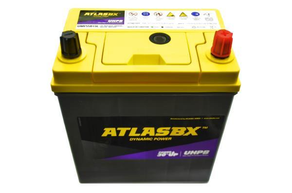 Аккумулятор ATLAS UMF, CCA400, 45АЧ, 55B19L UMF55B19L купить в Абакане