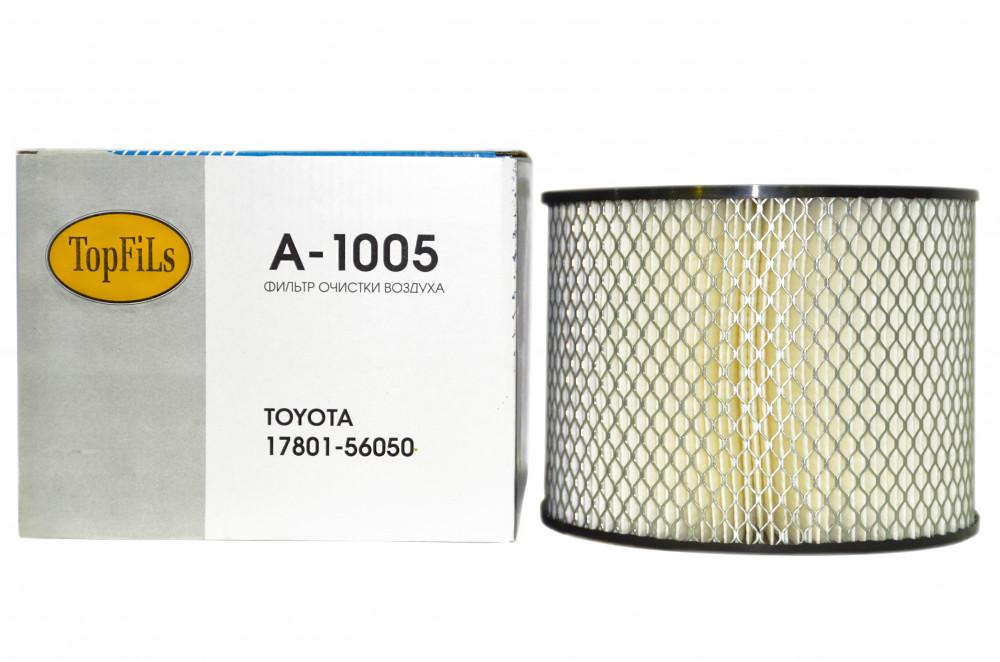 Фильтр воздушный TOP FILS A-1005 17801-56050 A-1005 купить в Абакане