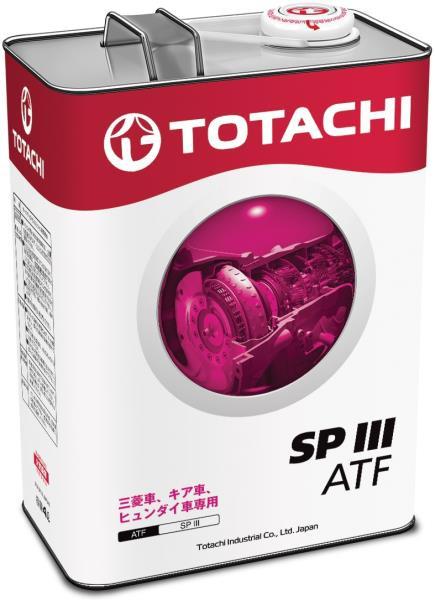 Жидкость для АКПП TOTACHI ATF SPIII синт. 4л 4562374691100 купить в Абакане