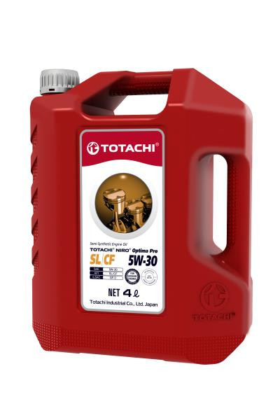 Моторное масло Моторное масло TOTACHI NIRO Optima PRO Semi-Synthetic 5w-30 SL / CF пласт. 4л 1C504 купить в Абакане