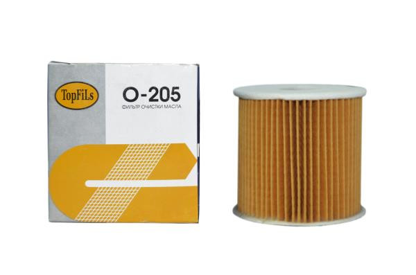 Фильтр масляный TOP FILS O-205 15208-AD200 O-205 купить в Абакане