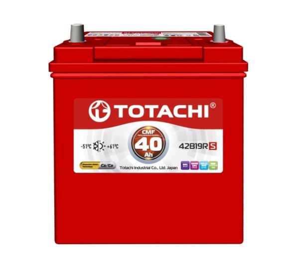 Аккумулятор TOTACHI KOR CMF 40 а / ч 42B19 R 4589904929724 купить в Абакане