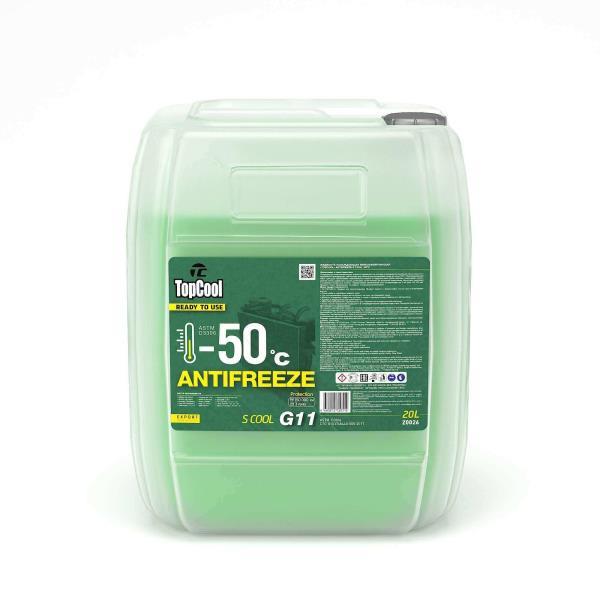 Жидкость охлаждающая TopCool Antifreeze S cool -50 C 20л. G11 Z0026 купить в Абакане