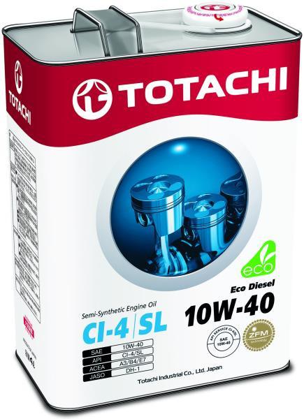 Моторное масло Масло моторное TOTACHI Eco Diesel CI-4 / CH-4 / SL псинт 10W40 4л 4562374690523 купить в Абакане