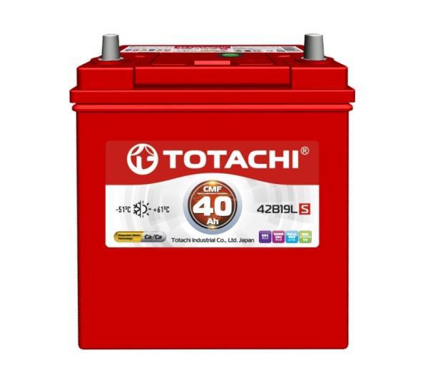 Аккумулятор TOTACHI KOR CMF 40 а / ч 42B19 L 4589904929717 купить в Барнауле