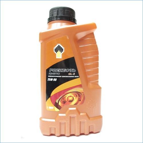 Масло трансмиссионное минеральное - РОСНЕФТЬ KINETIC GL-5 75 / 90 1л 4004 купить в Абакане