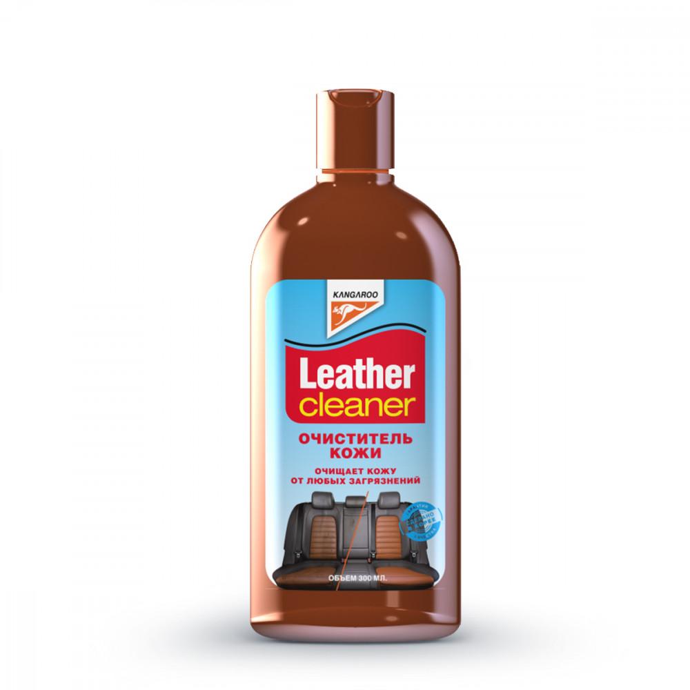 Очиститель кожи Kangaroo Leather Cleaner, 300мл 250812 купить в Абакане