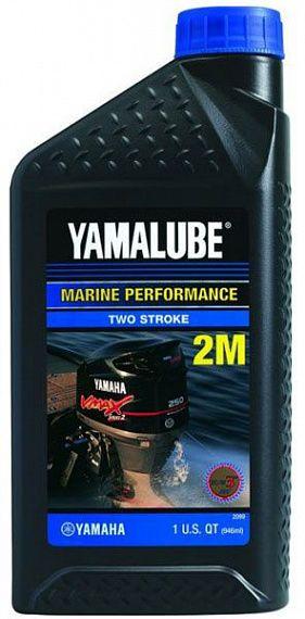 Моторное масло Yamalube 2M Marine 2-stroke Semisynthetic Oil (0, 946 л) LUB2STRKM112 купить в Абакане