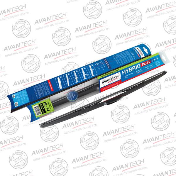 Щетка стеклоочистителя гибридная на левый руль Avantech Hybrid 600мм ( 24'' ) HL-24 купить в Абакане