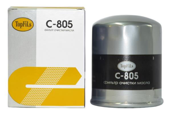 Фильтр масляный TOP FILS C-805 15400-PH1-004 C-805 купить в Абакане