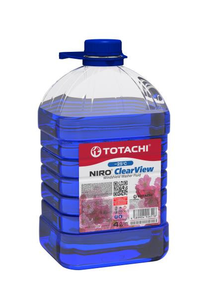 Омывающая жидкость TOTACHI NIRO CLEAR VIEW -25°C ПЭТ 4л 4589904926518 купить в Абакане