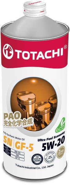 Моторное масло Масло моторное TOTACHI Ultra Fuel SN Синтетика 5W20 1л 4562374690653 купить в Абакане