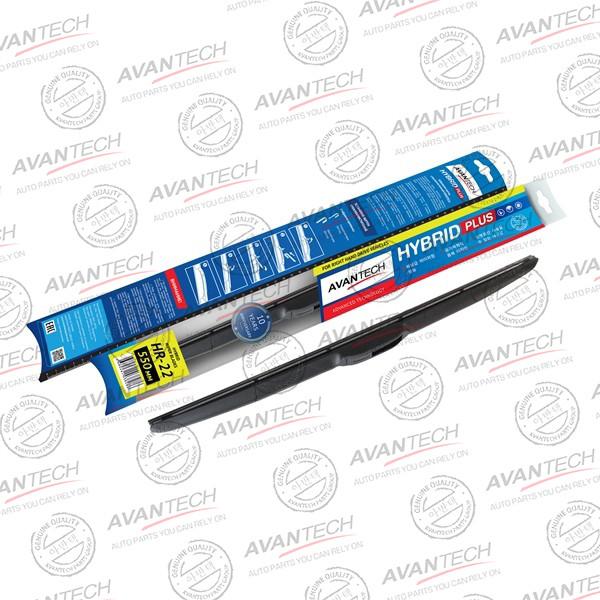 Щетка стеклоочистителя гибридная на правый руль Avantech Hybrid 550мм ( 22'' ) HR-22 купить в Абакане