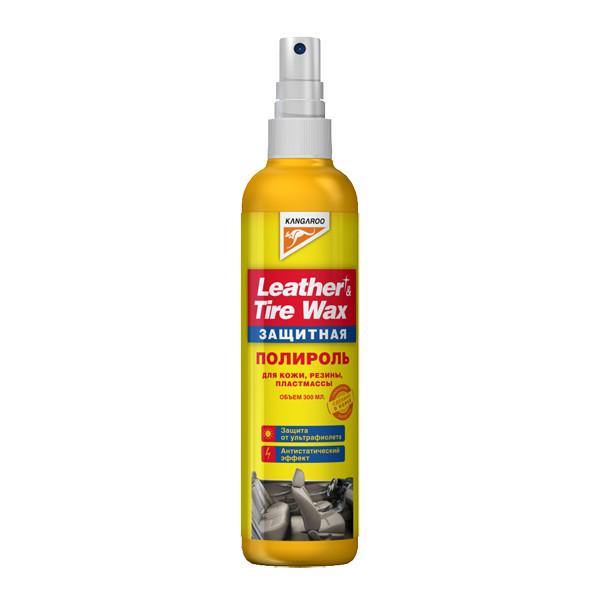 Полироль защитный (кож., рез., пласт.) Leather&Tire wax Protectant, 300мл 355036 купить в Абакане