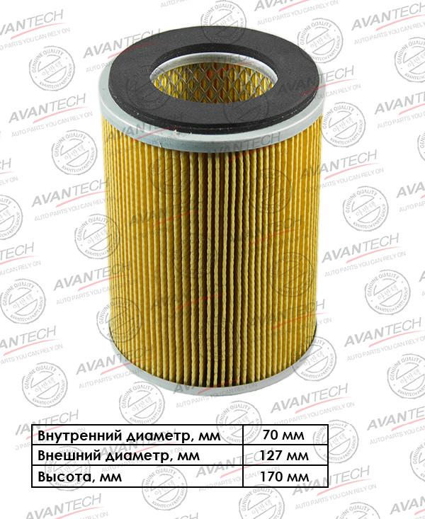 Фильтр воздушный Avantech-AF0202 AF0202 купить в Абакане