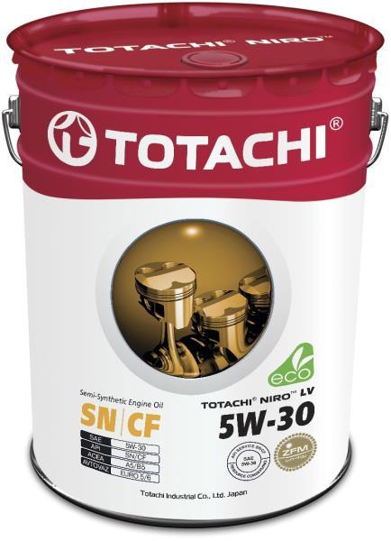 Моторное масло Масло моторное TOTACHI NIRO LV Semi-Synthetic SN / CF 5W-30 19л 4589904921605 купить в Абакане