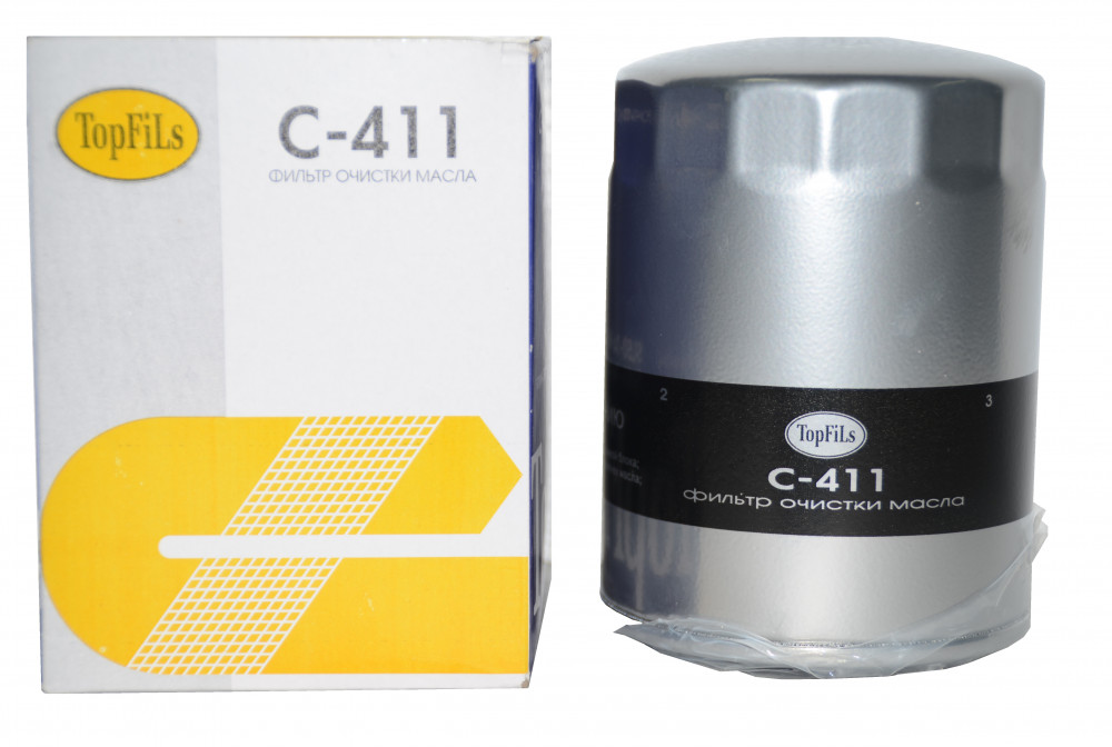 Фильтр масляный TOP FILS C-411 SL51-14-V61 C-411 купить в Абакане