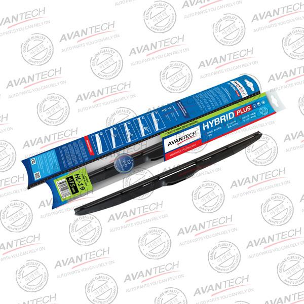 Щетка стеклоочистителя гибридная на левый руль Avantech Hybrid 475мм ( 19'' ) HL-19 купить в Абакане