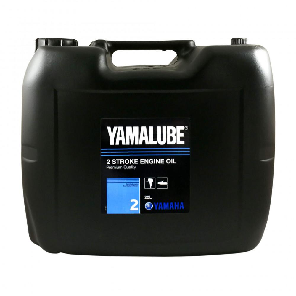 Моторное масло Yamalube 2-M TC-W3 RL Marine Mineral Oil (20 л) YMD630212002 купить в Абакане