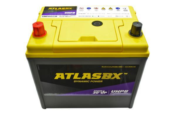 Аккумулятор ATLAS UMF, CCA700, 75АЧ, 95D23R UMF95D23R купить в Абакане
