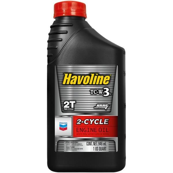 Моторное масло Масло моторное минеральное - HAVOLINE 2 CYCLE TC-W3 0.946л. 221896161 купить в Абакане