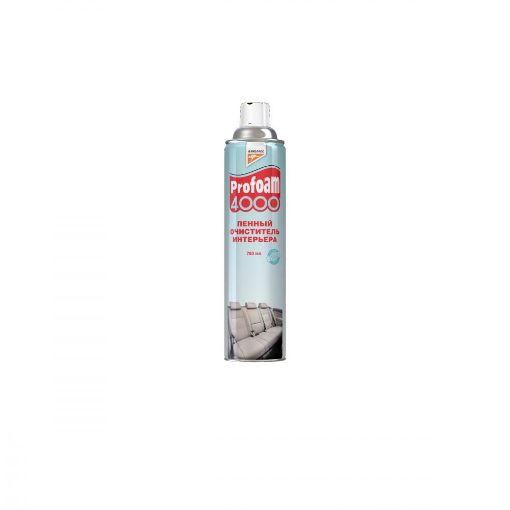 Очиститель интерьера Kangaroo Profoam 4000, пенный, 780мл 320492 купить в Абакане