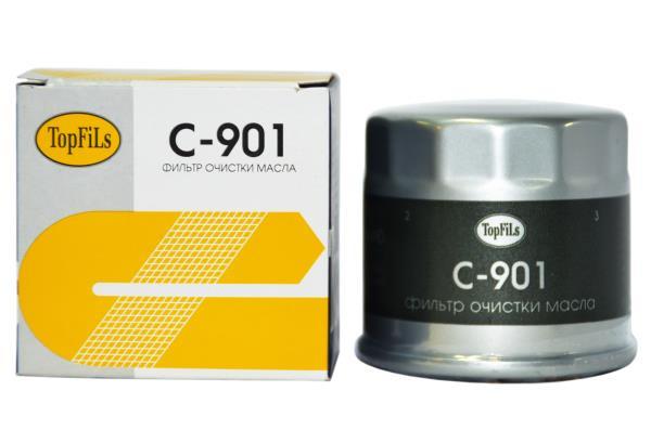 Фильтр масляный TOP FILS C-901 15208-KA000 C-901 купить в Абакане