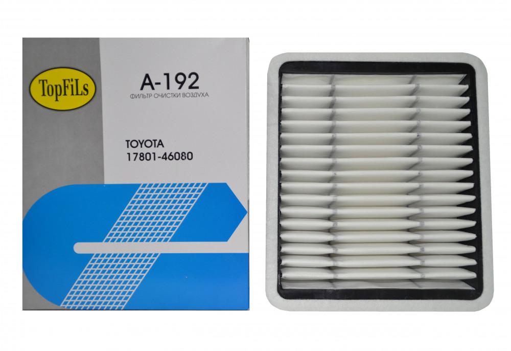 Фильтр воздушный TOP FILS A-192 17801-46080 A-192 купить в Абакане