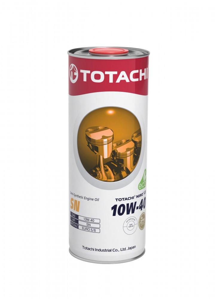 Моторное масло Масло моторное TOTACHI NIRO LV Semi-Synthetic SN 10W-40 1л 4562374694989 купить в Абакане