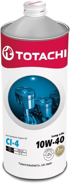 Моторное масло Масло моторное TOTACHI Long Life CI-4 псинт 10W40 1л 4562374690561 купить в Абакане