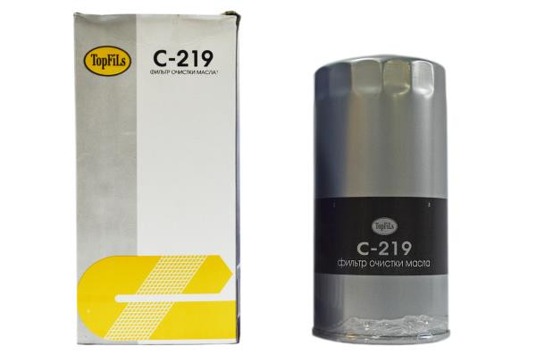 Фильтр масляный TOP FILS C-219 15209-T9002 C-219 купить в Абакане