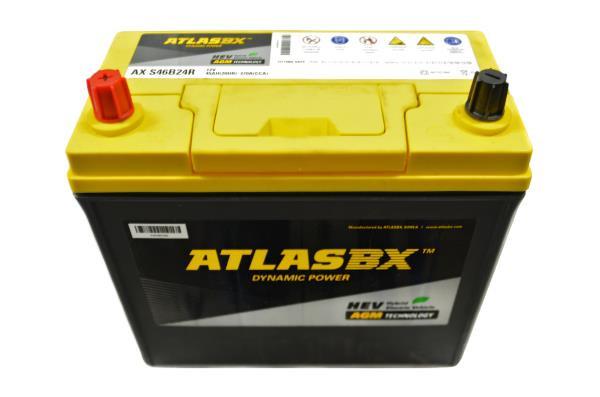 Аккумулятор ATLAS AX 45 S46B24R (TOYOTA PRIUS)R AXS46B24R купить в Абакане