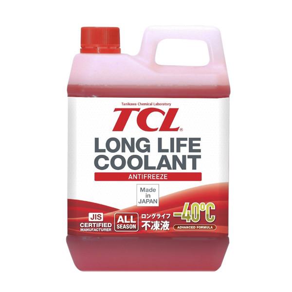АНТИФРИЗ TCL LLC -40C красный, 2 л LLC00864 купить в Абакане