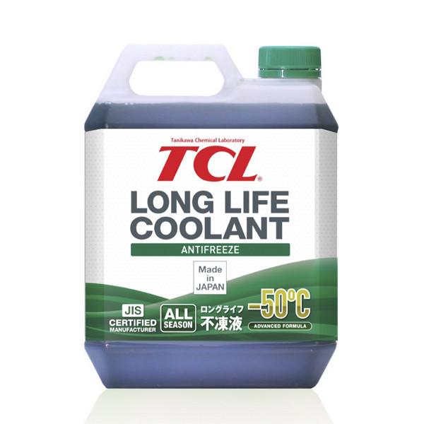 АНТИФРИЗ TCL LLC -50C зеленый, 4 л LLC01229 купить в Абакане
