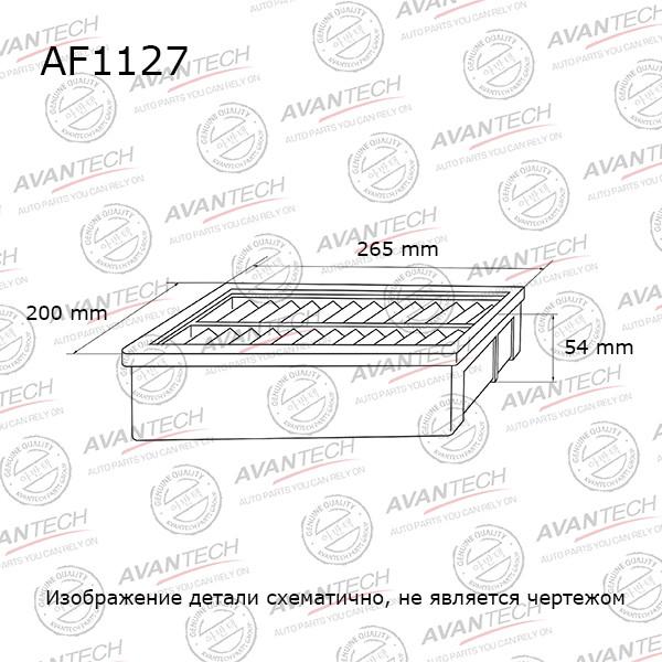 Фильтр воздушный Avantech-AF1127 AF1127 купить в Абакане