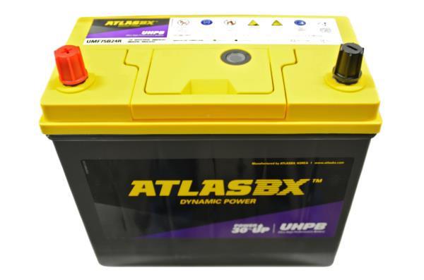 Аккумулятор ATLAS UMF , CCA500, 55АЧ, 75B24R UMF75B24R купить в Абакане