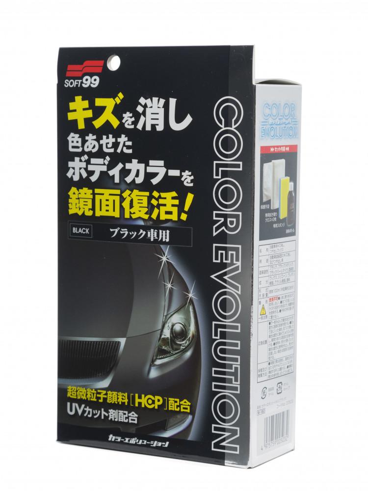 Полироль для кузова цветовосстанавливающий Soft99 Color Evolution Black для черных , 100 мл 00503 купить в Абакане