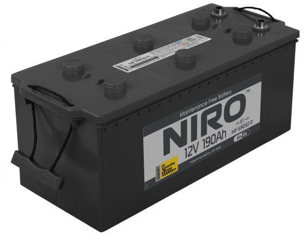 Аккумулятор NIRO MF 69032, 190а / ч R, унив. клеммы 4589904925313 купить в Абакане