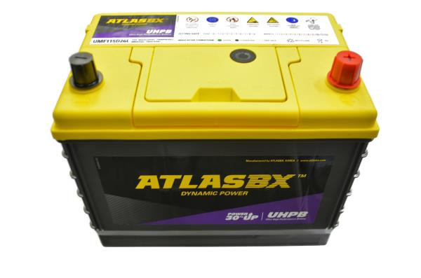 Аккумулятор ATLAS UMF, CCA750, 85АЧ, 115D26L UMF115D26L купить в Абакане