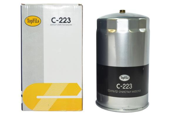 Фильтр масляный TOP FILS C-223 15201-Z9009 C-223 купить в Абакане